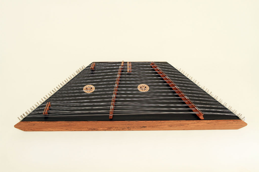 Bocote Endrails, LS Cherry Bridges, Black Top