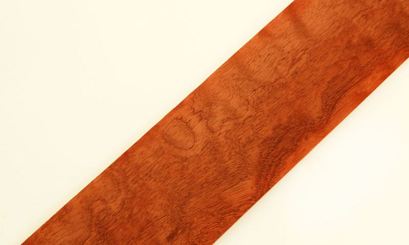 Curly Quilted Mahogany